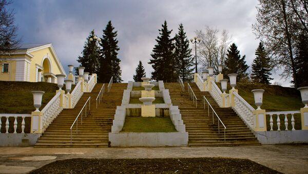 Город Силламяэ, Эстония. Архивное фото