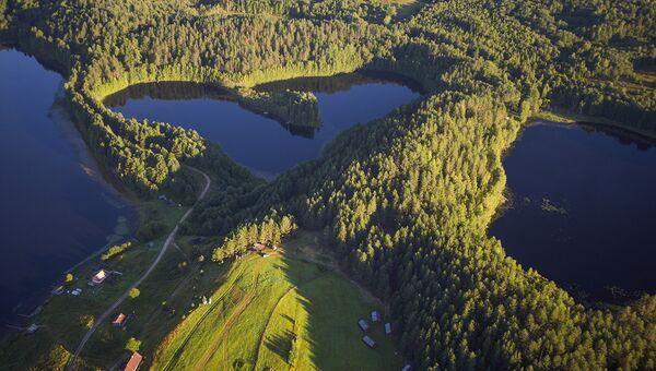 Кенозерский национальный парк. Масельга. Озеро Синее