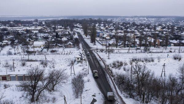Панорама Авдеевки. Архивное фото