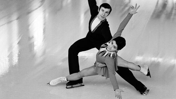 Многократные чемпионы Олимпийских игр, Европы и мира в парном катании Ирина Роднина и Александр Зайцев