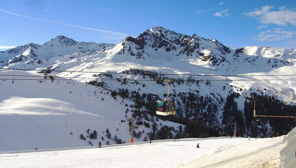 Французские Альпы. Архивное фото