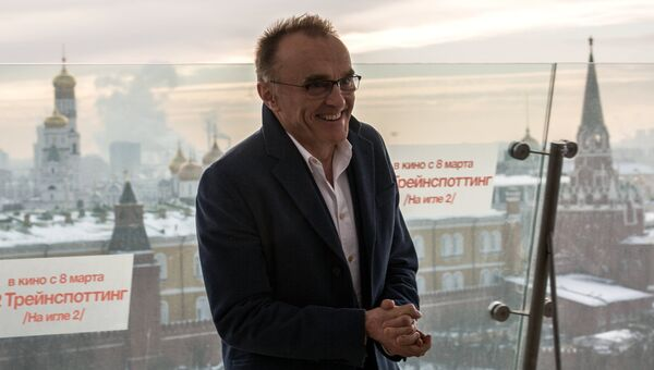 Дэнни Бойл во время фотоколла в Москве. Архивное фото