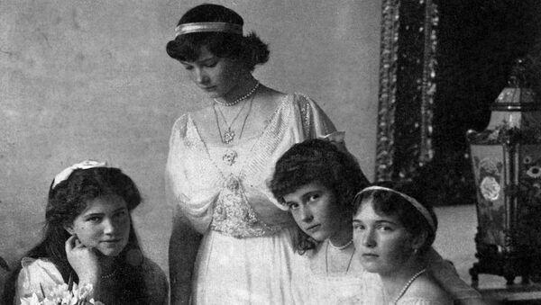 Великие княжны, дочери Императора Николая II, Мария, Татьяна, Анастасия и Ольга