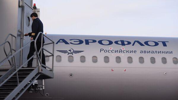 Самолета А-321 авиакомпании Аэрофлот. Архивное фото