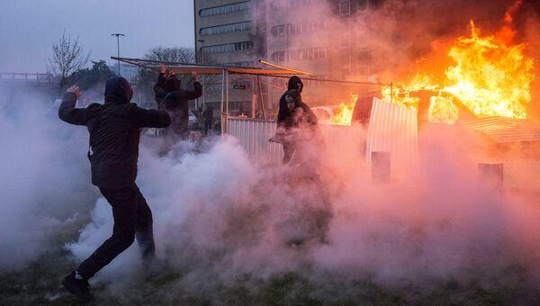 Протесты против полицейского насилия во Франции