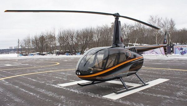 Вертолет Robinson R66. Архивное фото