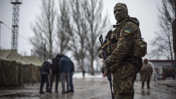 Солдаты ВСУ в Донбюассе. Архивное фото