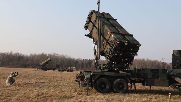 Cистема ПВО Patriot на совместных учениях американских и польских военных