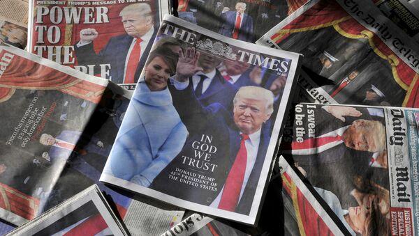 Ежедневные газеты, выпущенные после инаугурации Дональда Трампа. Архивное фото
