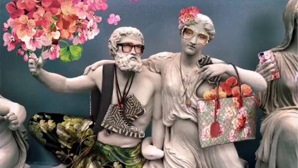Показ мод Гуччи на Акрополе