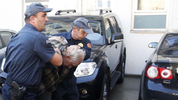 Подозреваемый в подготовке нападения в день парламентских выборов в Черногории