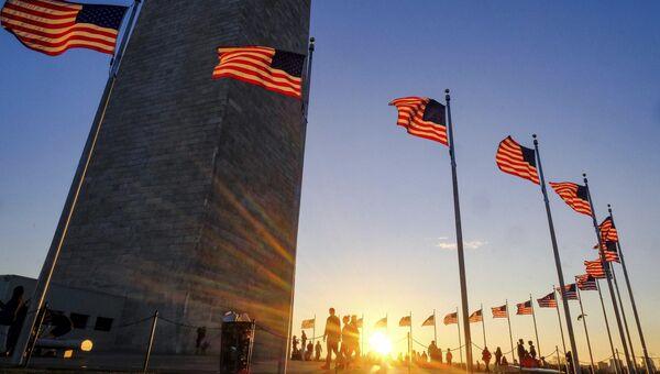 Монумент Вашингтона в США. Архивное фото