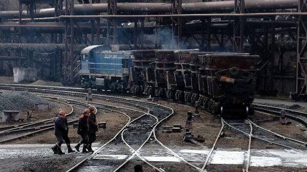 Украинское предприятие. Архивное фото