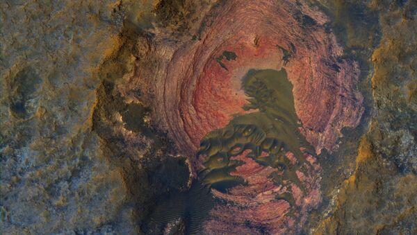 НАСА показало на фото сердце Марса