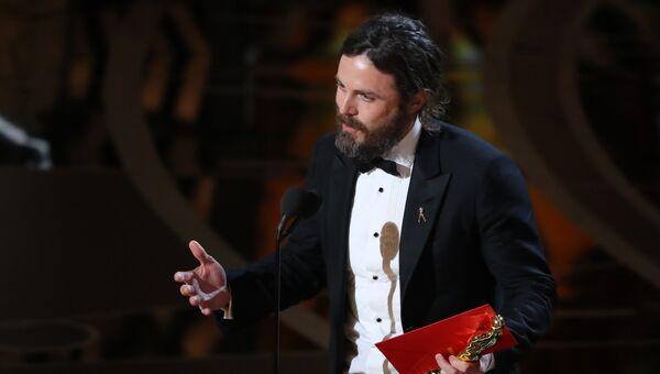 Кейси Аффлек на церемонии вручения Оскар