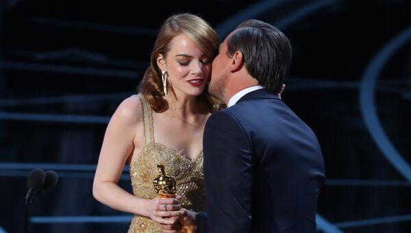 Эмма Стоун на вручении Оскар