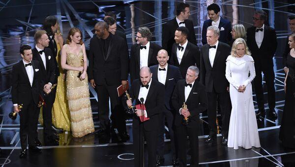 Объявлении победителя Оскара в номинации Лучший фильм. Архивное фото