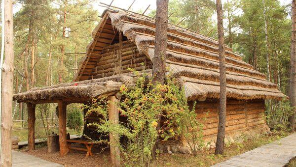 Национальный парк Куршская коса. Дом куршских рыбаков