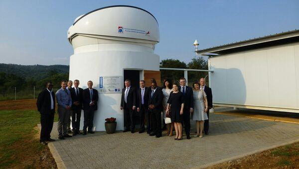 Открытие наземной станции Глонасс в ЮАР