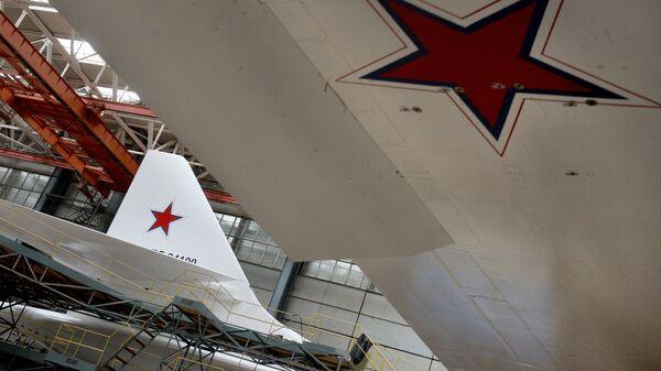 Цех Казанского авиазавода. Архивное фото