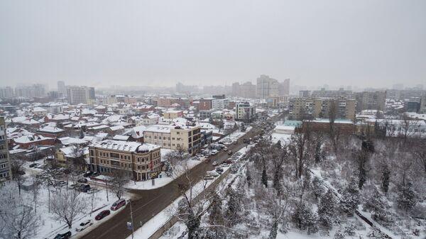 Зима в Краснодарском крае