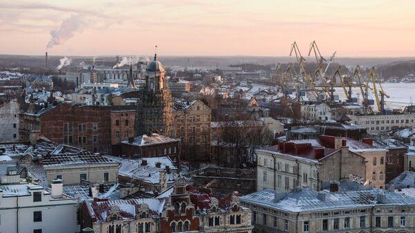 Выборг, Ленинградская область, архивное фото