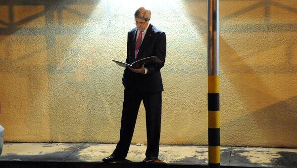 Экс-госсекретарь США Джон Керри. Архивное фото