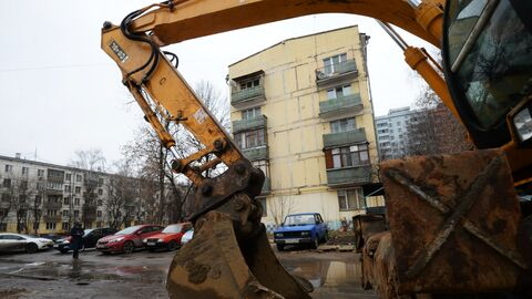 Снос пятиэтажек может затянуться, если законодательство о выкупе квартир в них останется прежним, утверждают в московской мэрии