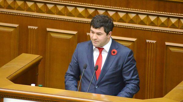 Глава Государственной фискальной службы Украины Роман Насиров