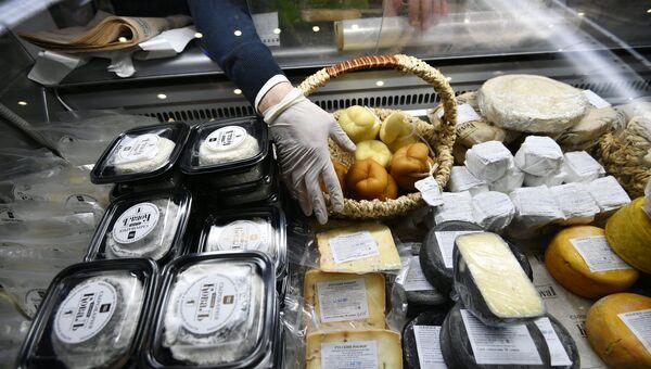 Фестиваль сыра на Манежной площади. Архивное фото