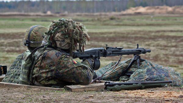 Солдаты вооруженных сил Германии. Архивное фото