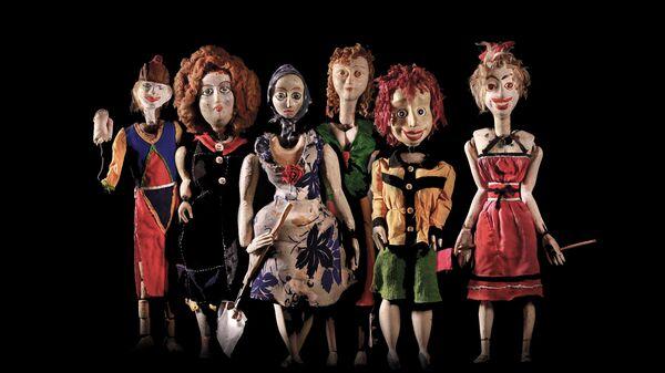 Спектакль Осень моей весны Театра марионеток Резо Габриадзе