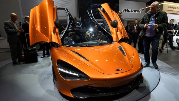 Автомобиль McLaren 720S на Женевском международном автосалоне