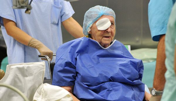 Пациент после окончания операции