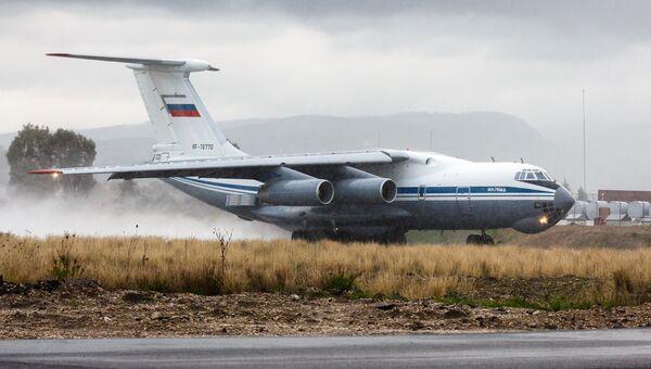 Самолет Ил-76 МД ВКС России. Архивное фото