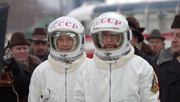 Кадр из фильма «Время первых» (реж. Дмитрий Киселев, 2017)