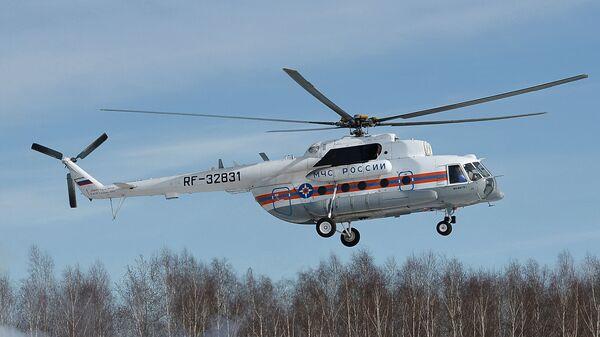 Вертолет Ми-8 МЧС России. Архивное фото