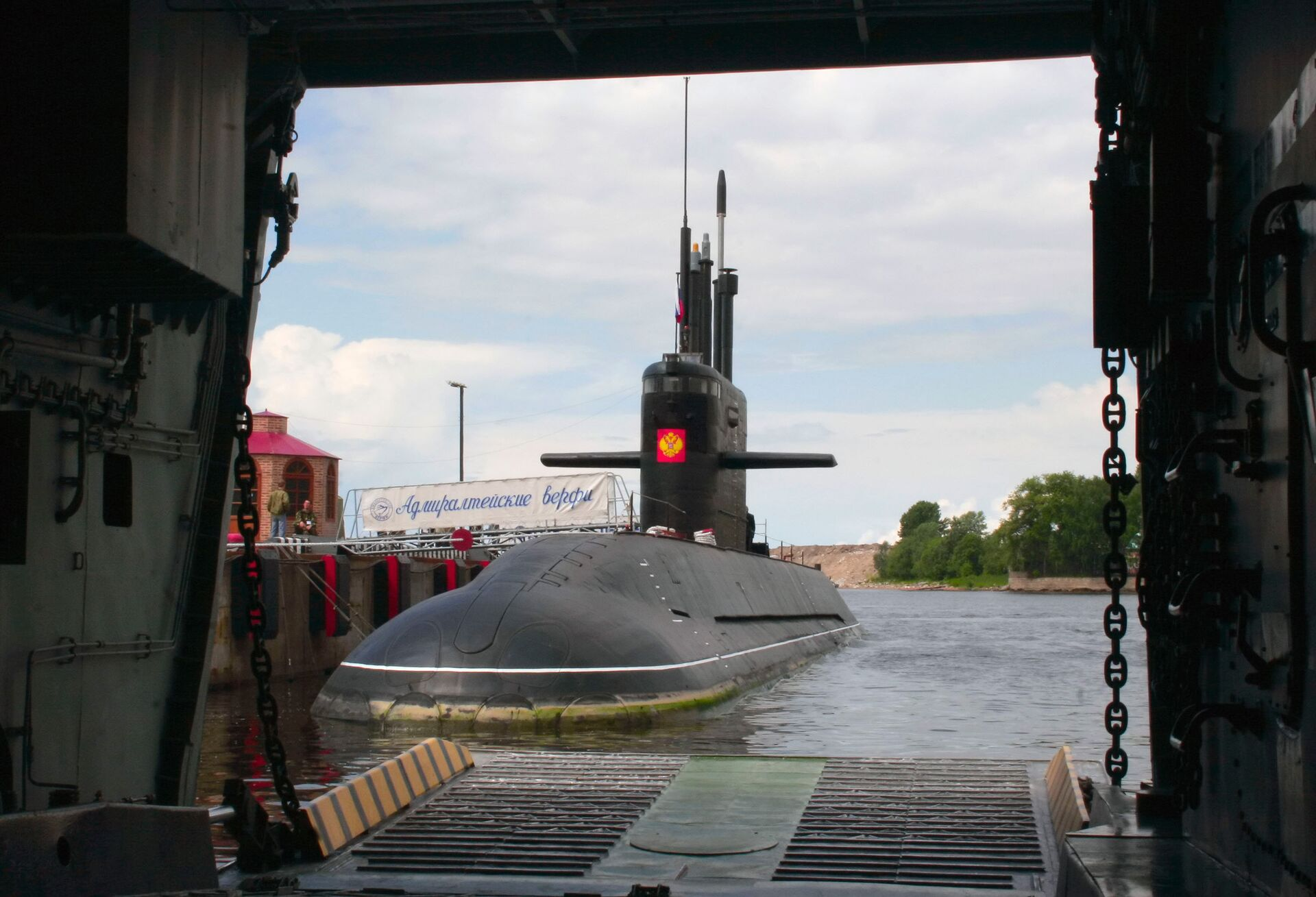 Дизельная подводная лодка Санкт-Петербург - РИА Новости, 1920, 24.02.2021