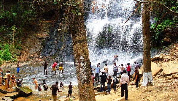 Водопад Кинтампо, Республика Гана. Архивное фото