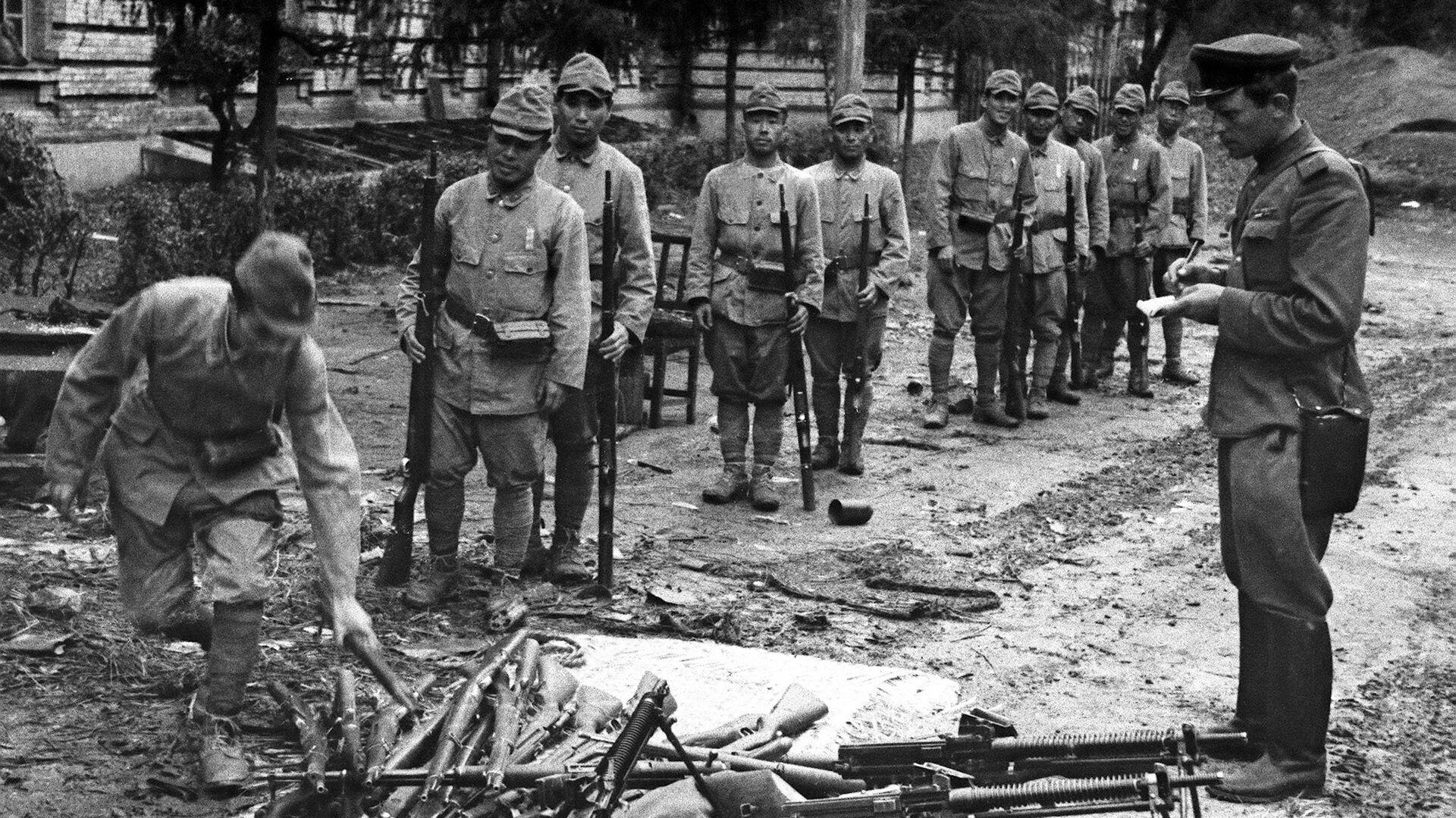 Капитуляция войск Квантунской армии - РИА Новости, 1920, 08.09.2021