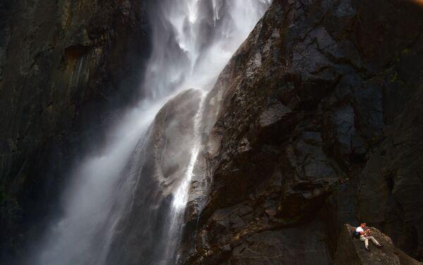 Йосемитский водопад в США