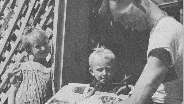 Фото из книги Джон Стейнбек Русский дневник, Robert Capa 1947