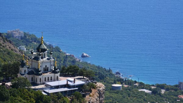 Церковь Воскресения Христова в поселке Форос в Крыму