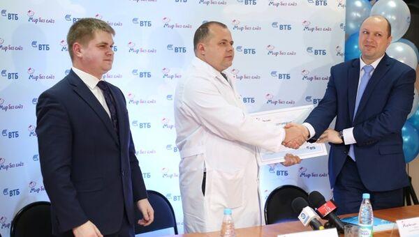 Детская больница в Пензе получила медоборудование в рамках программы ВТБ