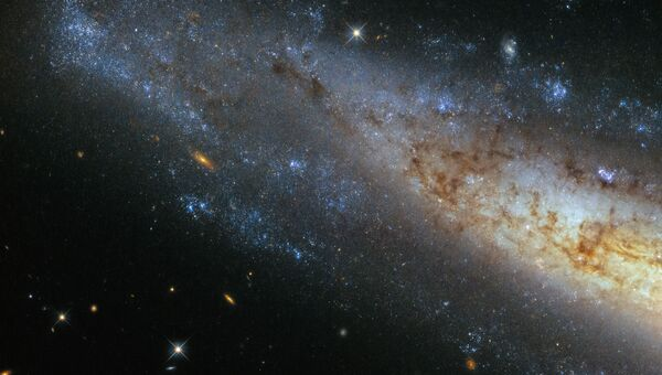 Спиральная галактика NGC 1448