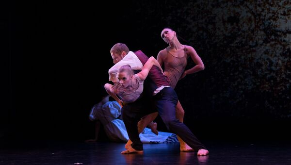 Участники IV международного фестиваля современной хореографии Context.Diana Vishneva, ноябрь 2016 год
