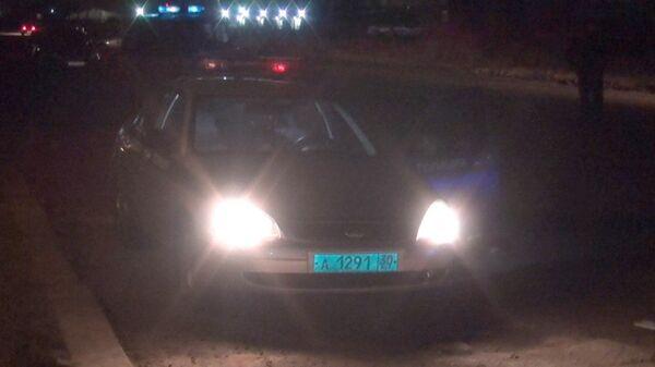 Автомобиль полиции в Астрахани