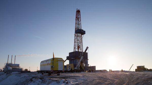 Нефтяная компания Роснефть приступила к бурению скважины Центрально-Ольгинская-1