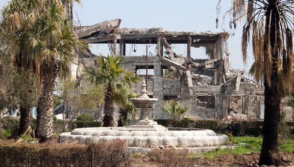 Разрушенные здания в Мосуле. Архивное фото