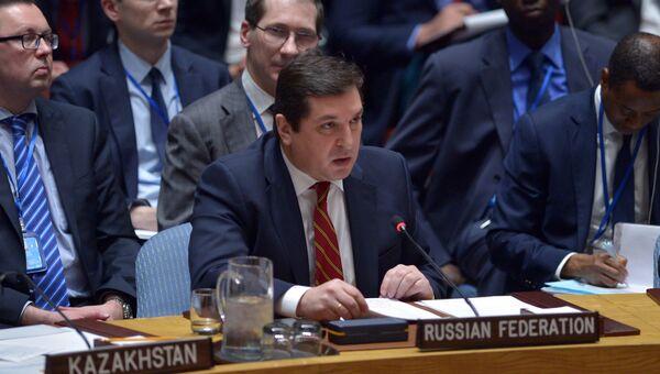 Заместитель постпреда РФ при ООН Владимир Сафронков